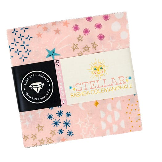 Moda Fabrics -  Ruby Star - Add It Up - Stellar Charm Pack