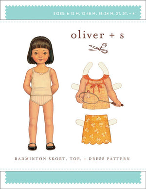 OLIVER + S - BADMINTON SKORT TOP DRESS