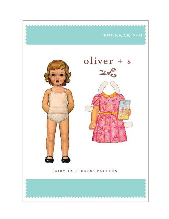 OLIVER + S - FAIRY TALE DRESS 5-12