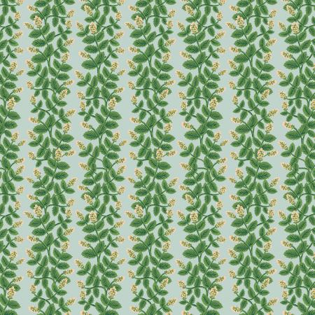 Cotton+Steel Fabrics - Rifel Paper -Primavera - Climbing Vines - Mint Fabric