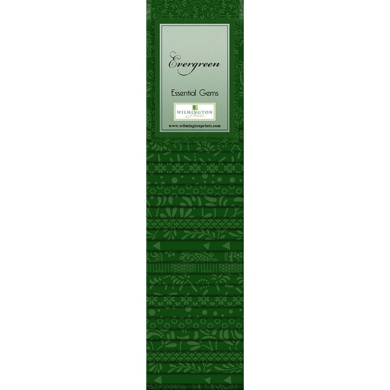 QT Fabrics  - Evergreen- -Jelly Roll - - 24-2/1/2