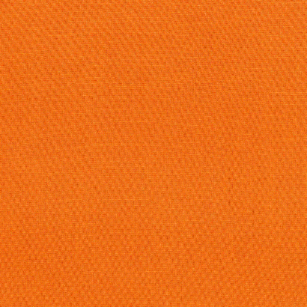 RJR FABRICS - COTTON SUPREME SOLIDS -RJR - PUMPKIN - 130