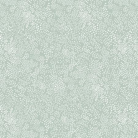 Cotton+Steel Fabrics - Rifel Paper Co. Basics - Menagerie Champagne - Mint