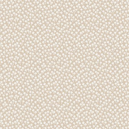 Cotton+Steel Fabrics - Rifel Paper Co. Basics - Tapestry Dot - Linen