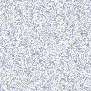 Cotton+Steel Fabrics - Rifel Paper Co. Basics - Tapestry Lace - Periwinkle
