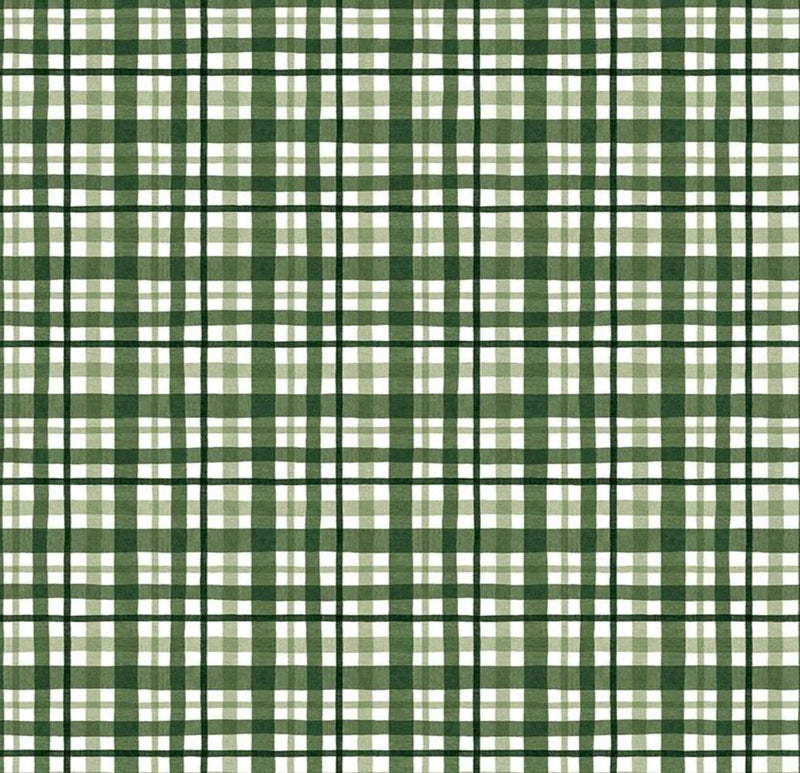 Riley Blake Fabrics  - At The Lake Plaid Hunter