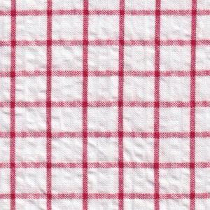Fabric Finders Faabric - Seersucker Check – Red