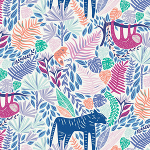 Art Gallery Fabrics - Junglen Joyous From Selva