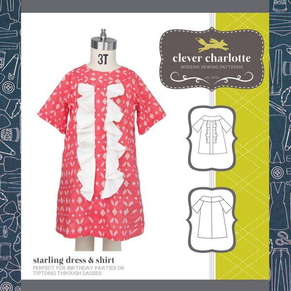 CLEVER CHARLOTTE - STARLING DRESS & SHIRT
