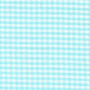 Fabric Finders Faabric - 1/16 Seafoam gingham