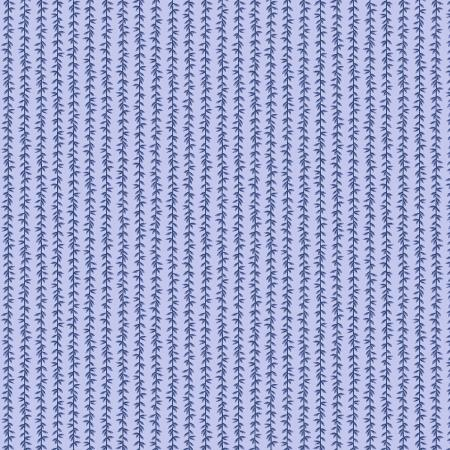 Cotton+Steel Fabrics - Rifel Paper Co. - Strawberry Fields - Laurel Stripe - Chambray