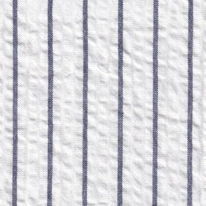Fabric Finders Faabric - Striped Seersucker– Navy