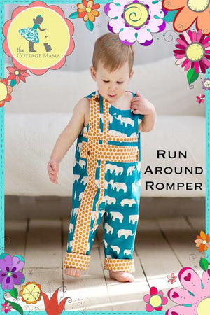 THE COTTAGE MAMA - RUN AROUND ROMPER PATTERN