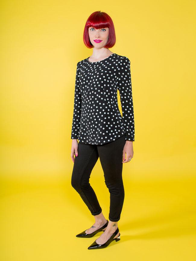 TILLY AND THE BUTTONS - ORLA SHIFT TOP