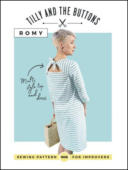 TILLY AND THE BUTTONS - ROMY TOP AND DRESS