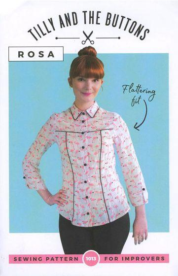 TILLY AND THE BUTTONS - ROSA SHIRT AND SHIRT DRESS