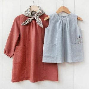 WIKSTEN - BABY AND CHILD SMOCK TOP.