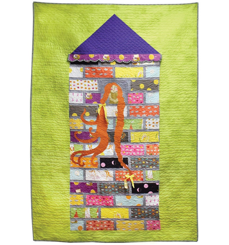 WINDHAM FABRICS  - FARFAR II - HEATHER ROSS  -  RAPUNZELS TOWER QUILT KIT