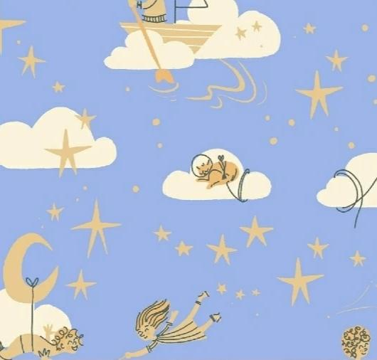 WINDHAM FABRICS  - PLAYGROUND - AMONG THE STARS