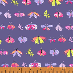 Windham Fabrics - Aerial - Petite Be - Blue