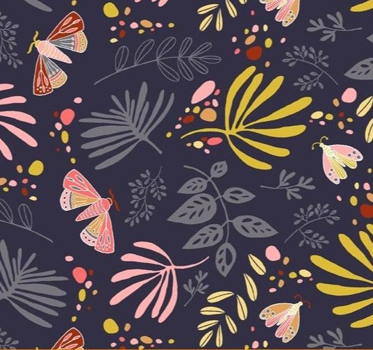Windham Fabrics - Aerial -  Scatter - Navy