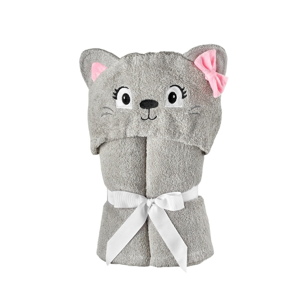Yikes Twins - Child - Cat Hooded Towels
