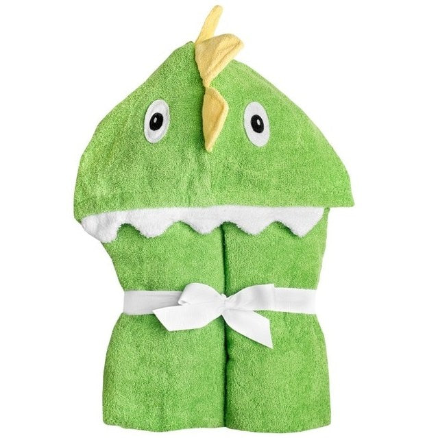 Yikes Twins - Child - Dinosaur Hooded Towels