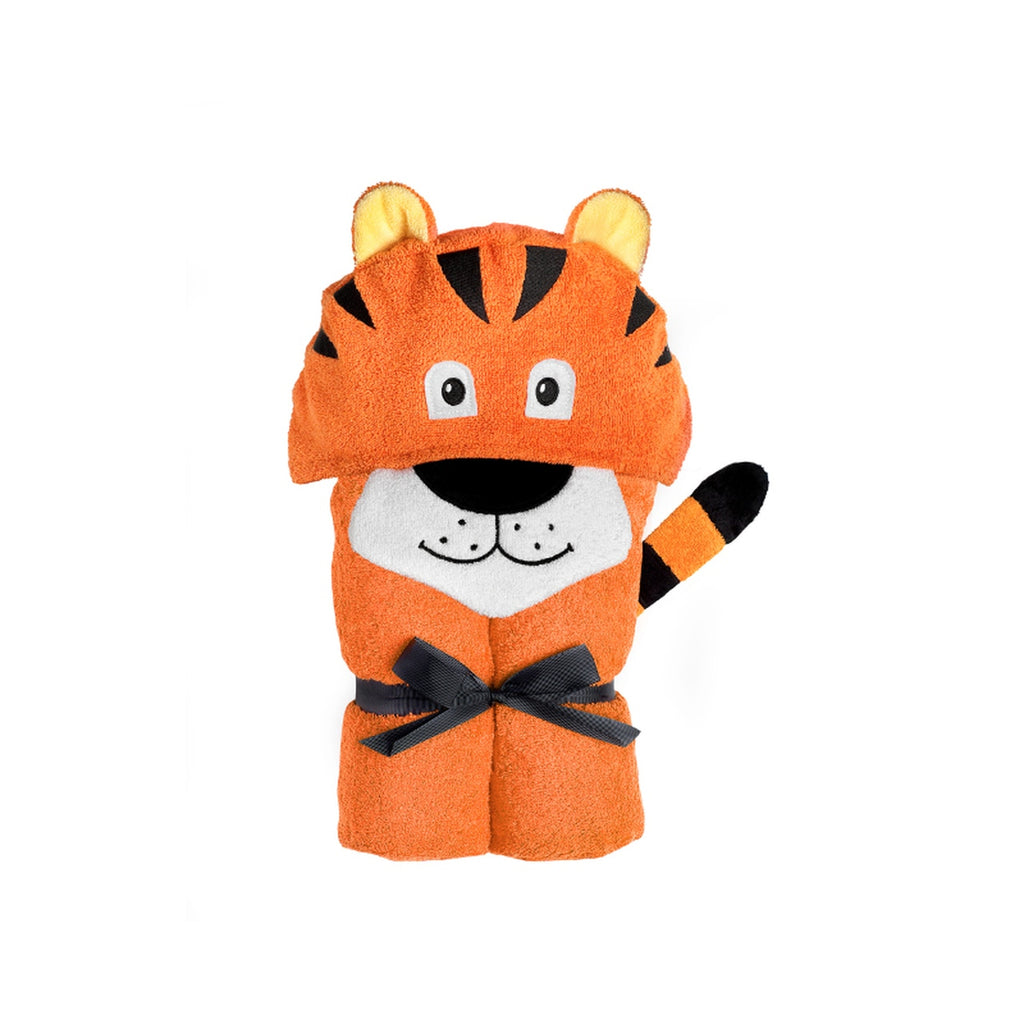 Yikes Twins - Child - Tiger Hooded Towels