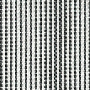 FABRIC FINDERS - BLACK AND WHITE STRIPED FABRIC