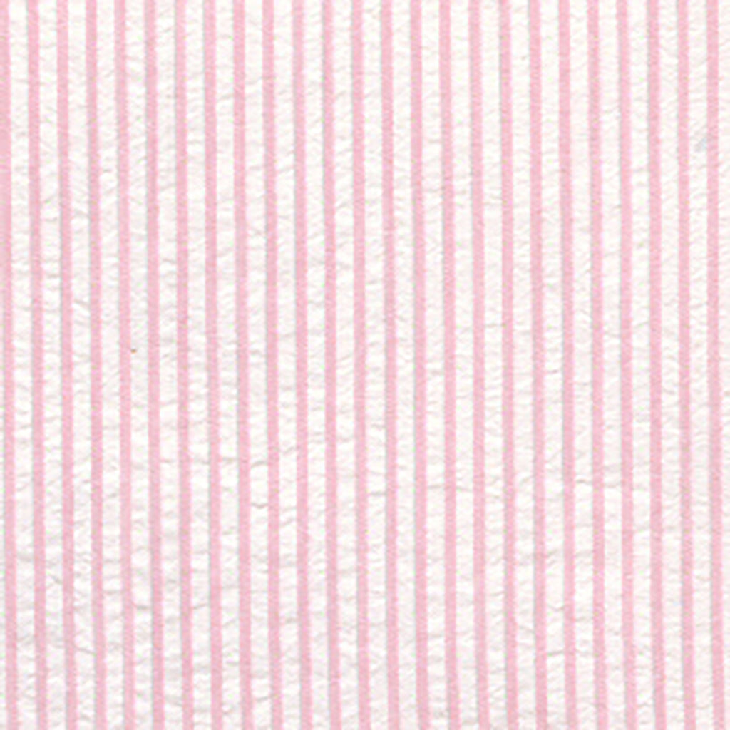 Fabric Finders Fabrics - Striped Seersucker Pink