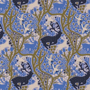Freespirit Fabric - Endless Summer - Onward - Blueberry