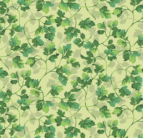 FREE SPIRIT FABRICS - MARTHA NEGLEY - PARSLEY – BRIGHT