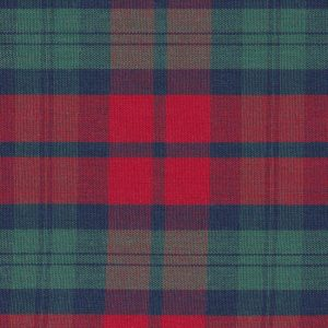 FABRIC FINDERS FABRICS - RED AND GREEN PLAID