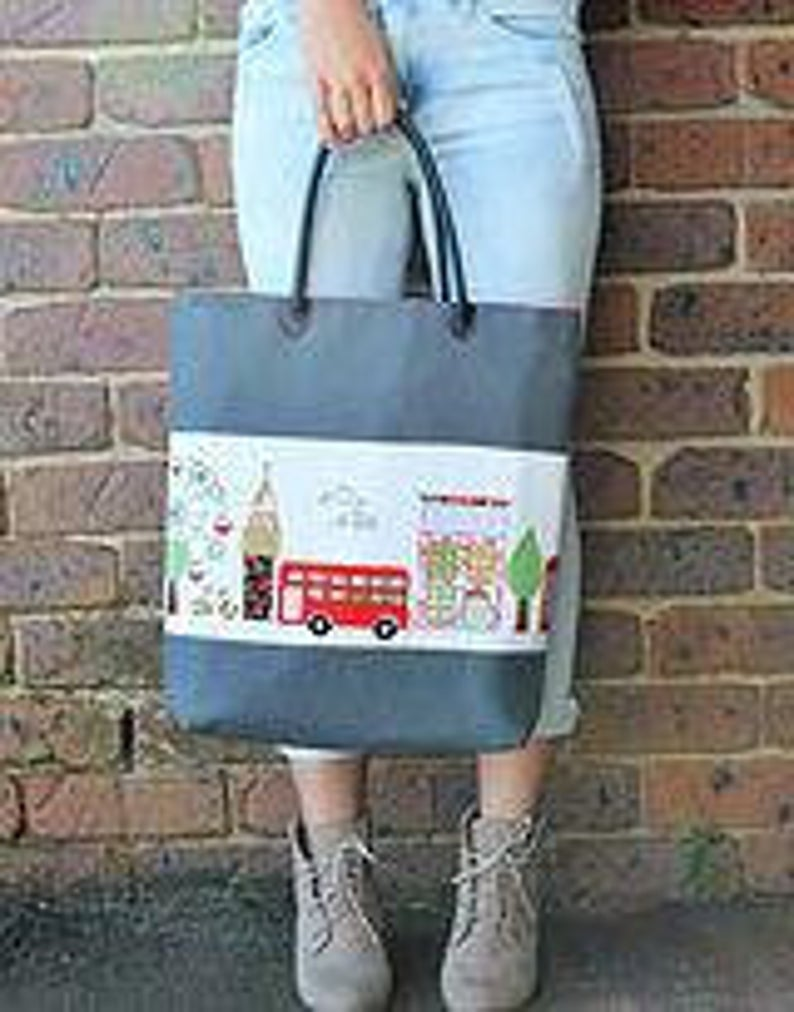 SEW QUIRKY - A STITCH IN LONDON - PATTERN
