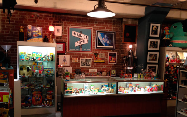 Main Street Toys; the toy shop