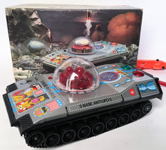 Vintage Battery Operated Space Tank
