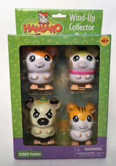 Hamtoro 4 Piece Wind Up Collector Pack