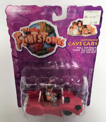Set Of Two Mattel Flintstones Cave Cars