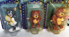 Set Of Three Tom And Jerry Wind Up Walkers