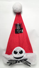 Nightmare Before Christmas Jack Skellington Santa Hat