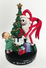 Nightmare Before Christmas Resin Jack With Boy