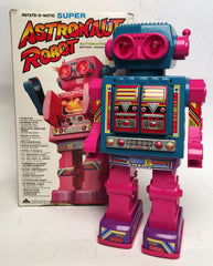 Vintage Taiwan Rotate-O-Matic Super Astronaut Robot