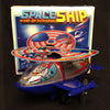 MTU Korea Wind Up Turn Action Space Ship - 1980's Version