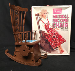 Sears Doll Musical Rocking Chair
