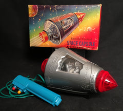 Vintage Hong Kong Battery Operated Space Capsule