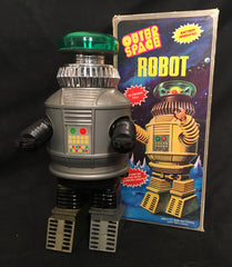 Vintage Battery Operated B-9 Lost in Space Robot