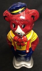 Vintage Chein Tin Wind Up Waddling Circus Bear