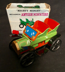 Mighty Midget Mechanical Antique Miniature Car