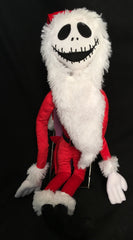 NIghtmare Before Christmas Jack As Santa Poseable Doll