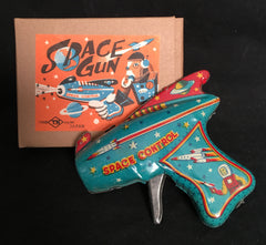 Vintage TN Japan Tin Space Ray Gun